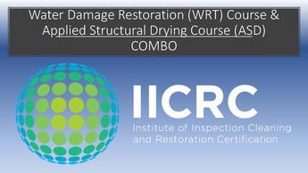 Iicrc Wrt Asd Combo Restoration Academy
